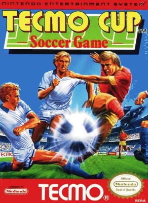 Tecmo Cup Soccer Game Cover Art