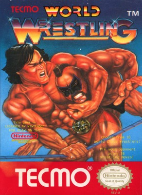 Tecmo World Wrestling Cover Art