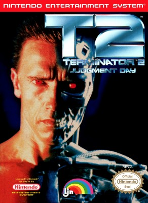 T2 Terminator 2: Judgment Day Cover Art