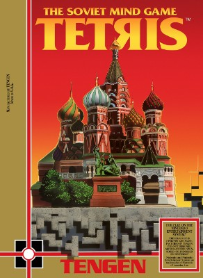 Tengen Tetris Cover Art