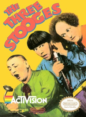 Three Stooges Cover Art