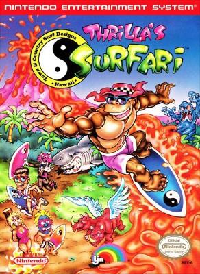 T & C Surf Designs: Thrilla's Surfari Cover Art