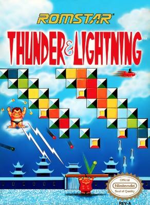 Thunder and Lightning Cover Art