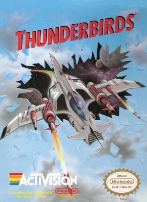 Thunderbirds Cover Art