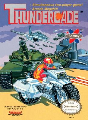 Thundercade Cover Art