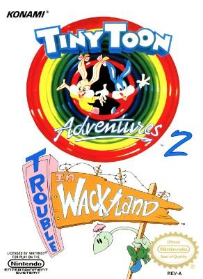 Tiny Toon Adventures 2: Trouble in Wackyland Cover Art