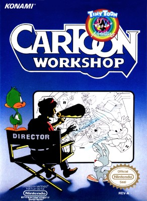 Tiny Toon Adventures Cartoon Workshop Cover Art
