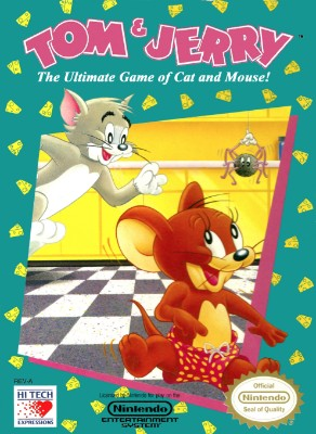 Tom & Jerry: The Ultimate Game of Cat and Mouse! Cover Art