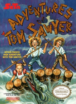 Adventures of Tom Sawyer Cover Art