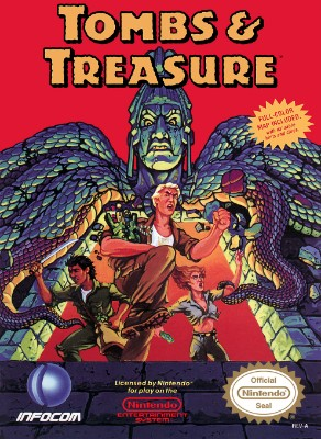 Tombs & Treasure Cover Art