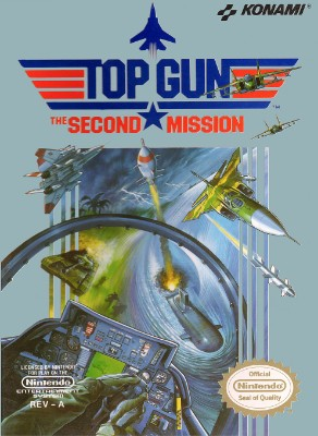 Top Gun: The Second Mission Cover Art