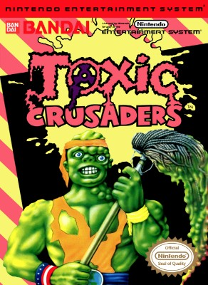 Toxic Crusaders Cover Art