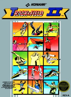 Track & Field II Cover Art