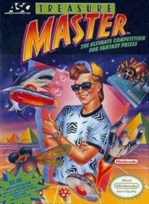 Treasure Master Cover Art