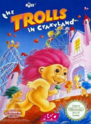 Trolls in Crazyland [PAL] Cover Art