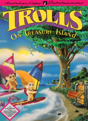 Trolls on Treasure Island Cover Art