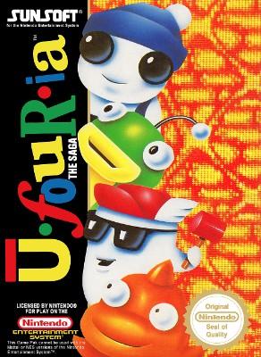 Ufouria: The Saga [PAL] Cover Art