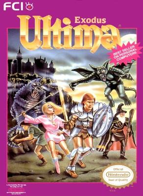 Ultima: Exodus Cover Art