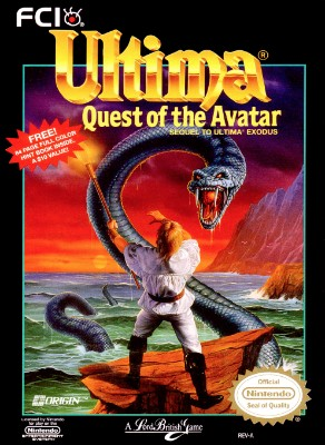 Ultima: Quest of the Avatar Cover Art