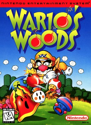 Wario's Woods Cover Art