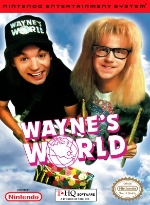 Wayne's World Cover Art