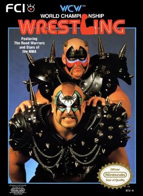WCW: World Championship Wrestling Cover Art