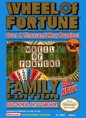 Wheel of Fortune: Family Edition Cover Art