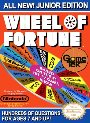 Wheel of Fortune: Junior Edition Cover Art