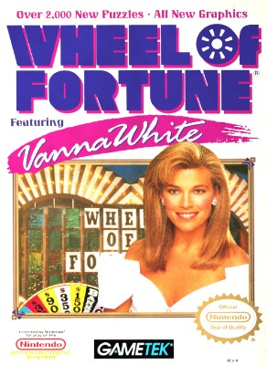 Wheel of Fortune Featuring Vanna White Cover Art