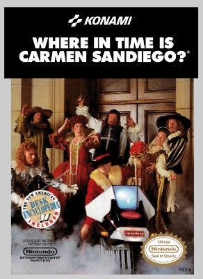 Where in Time Is Carmen Sandiego? Cover Art