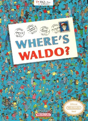 Where's Waldo? Cover Art