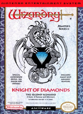 Wizardry Master Series II: Knight of Diamonds Cover Art
