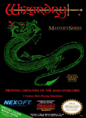 Wizardry Master Series: Proving Grounds of the Mad Overlord Cover Art