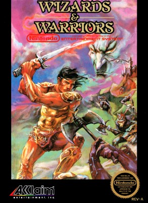 Wizards & Warriors Cover Art