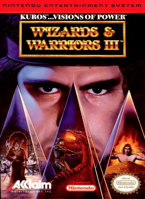 Wizards & Warriors III: Kuros: Visions of Power Cover Art