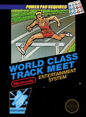 World Class Track Meet Cover Art