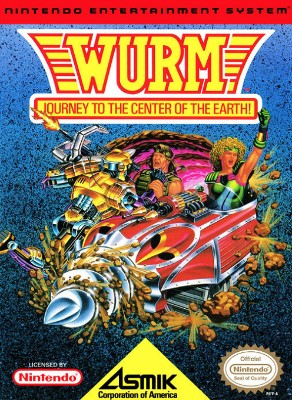 Wurm: Journey to the Center of the Earth Cover Art