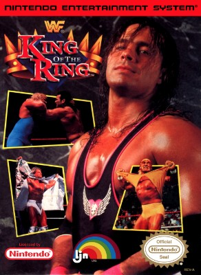 WWF King of the Ring Cover Art