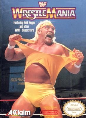 WWF WrestleMania Cover Art