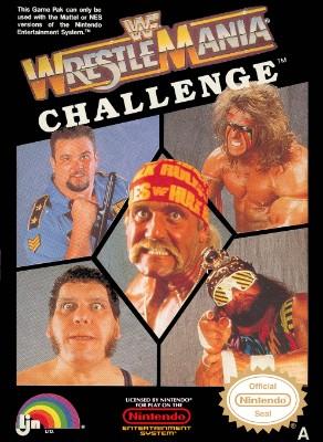 WWF WrestleMania Challenge Cover Art