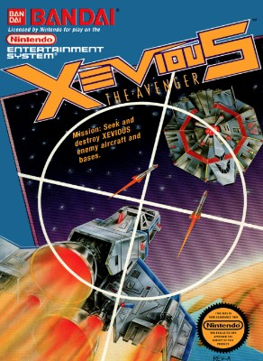 Xevious: The Avenger Cover Art