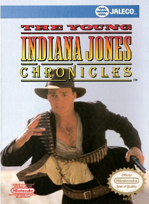 Young Indiana Jones Chronicles Cover Art