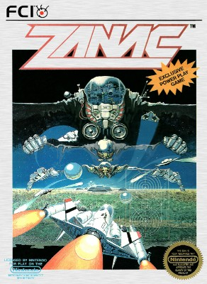 Zanac Cover Art