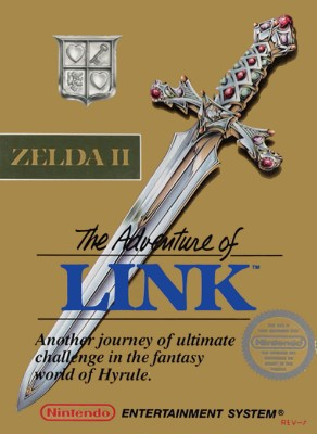 Zelda II: The Adventure of Link Cover Art