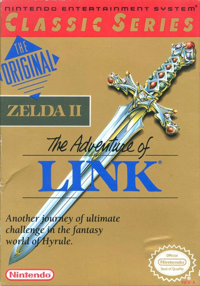 Zelda II: The Adventures of Link [Classic Series] Cover Art