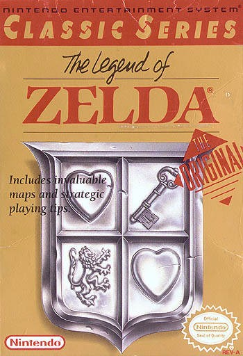 Legend of Zelda [Classic Series] Cover Art