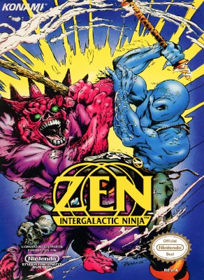 Zen: Intergalactic Ninja Cover Art