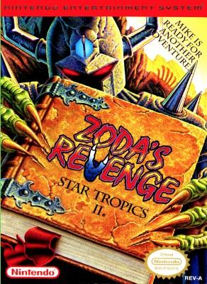 Star Tropics II: Zoda's Revenge Cover Art