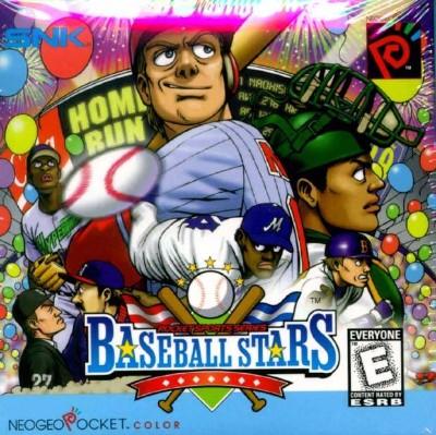 Baseball Stars Color Cover Art