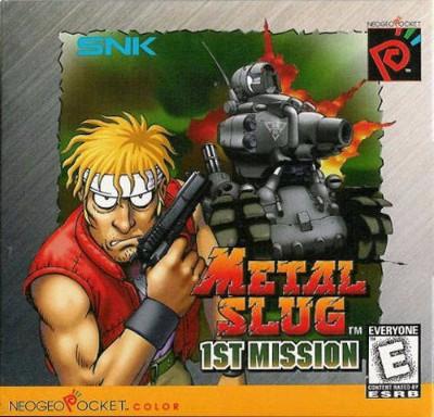 Metal Slug: 1st Mission Cover Art